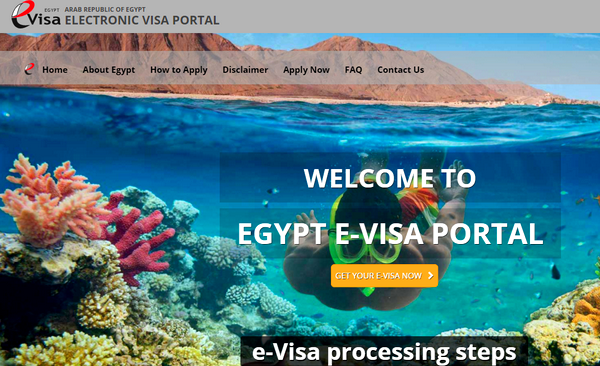 wiza egipska online